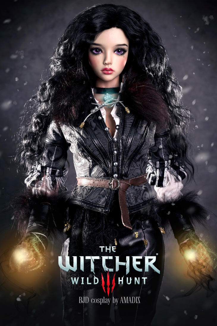 The Witcher: Yennefer of Vengerberg by amadiz