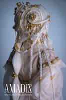 Golden orchid 2 by amadiz