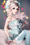 Magdalena in Delicate Mint Baroque Set