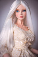 Virginia Fragile Beauty in a long straight wig by amadiz