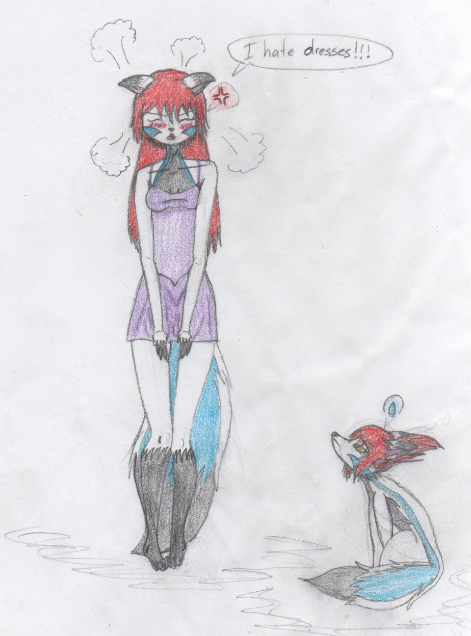 She Hates Dress by LatiosLatiasEON