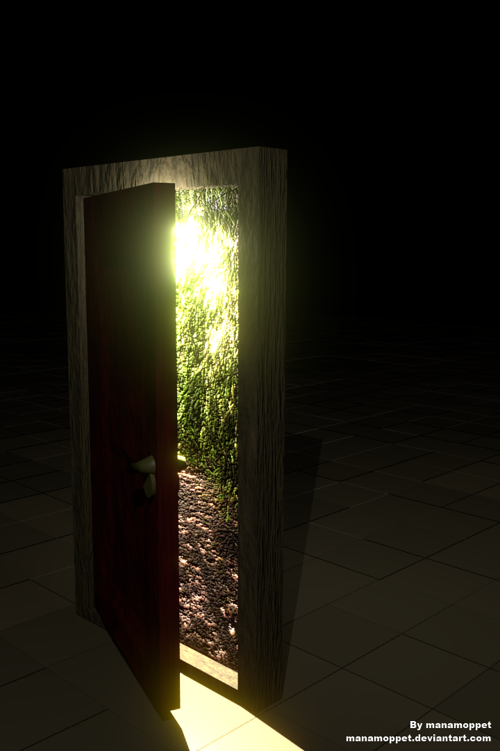 Mysterious door by manamoppet ... & Mysterious door by manamoppet on DeviantArt