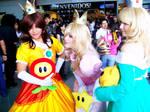 Daisy, Rosalina and Peach