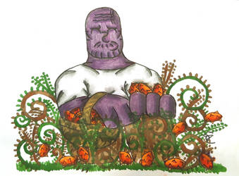Berry Picking Thanos by zsordog