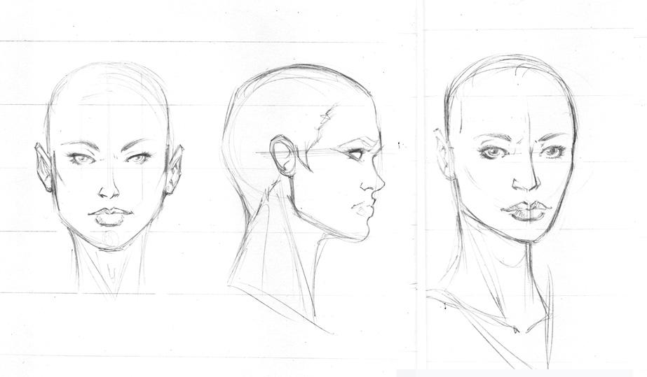Rostos Desenhos: Female Headshots Turn Arounds By Igm-transformer On DeviantArt