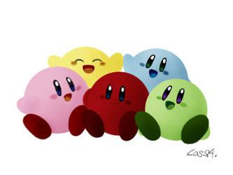 Kirby's by Ro-sa