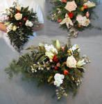 Dangling Bridal Bouquet