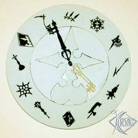 Organization XIII Clock by Kurokari