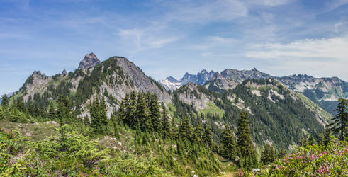 A Series of Peaks by shutterphoenix