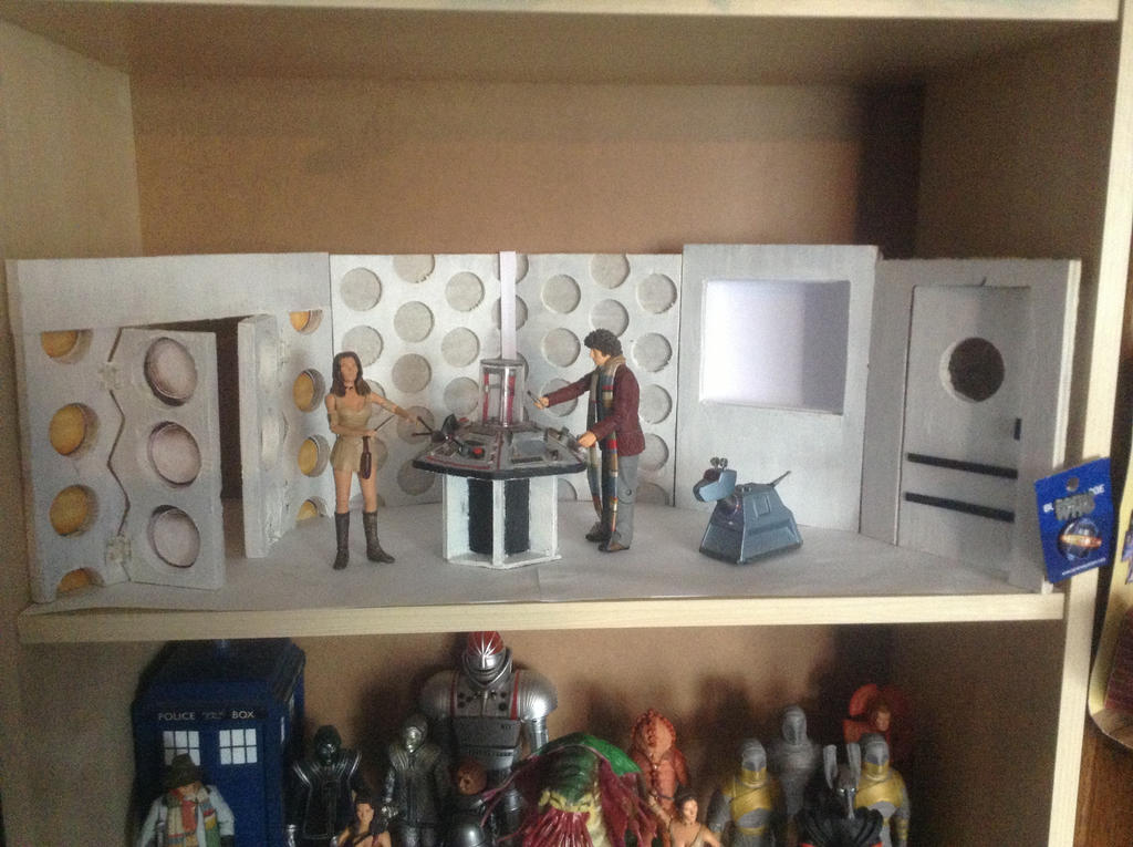 Custom TARDIS console room by Mickeysmith07