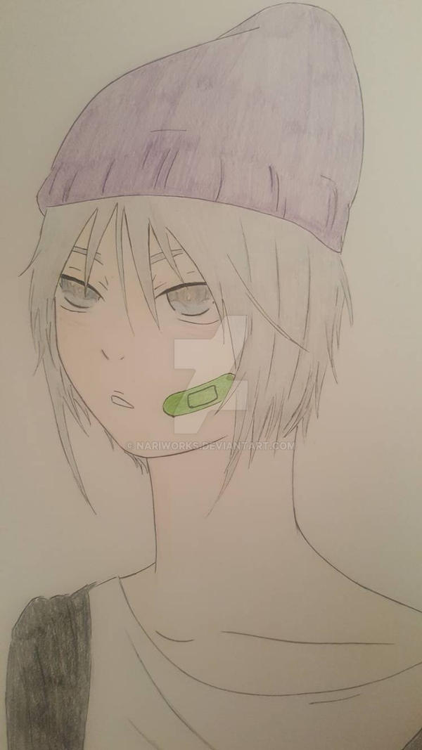 Anime Boy Wearing A Beanie By Nariworks On Deviantart