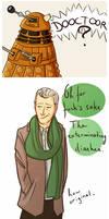 The dalek and the Capaldi.