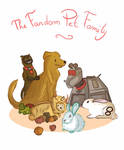 The fandom family by pinkwater1211