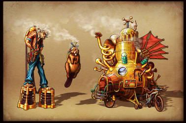 Wezer, Gale, Weather Machine by masz-rum
