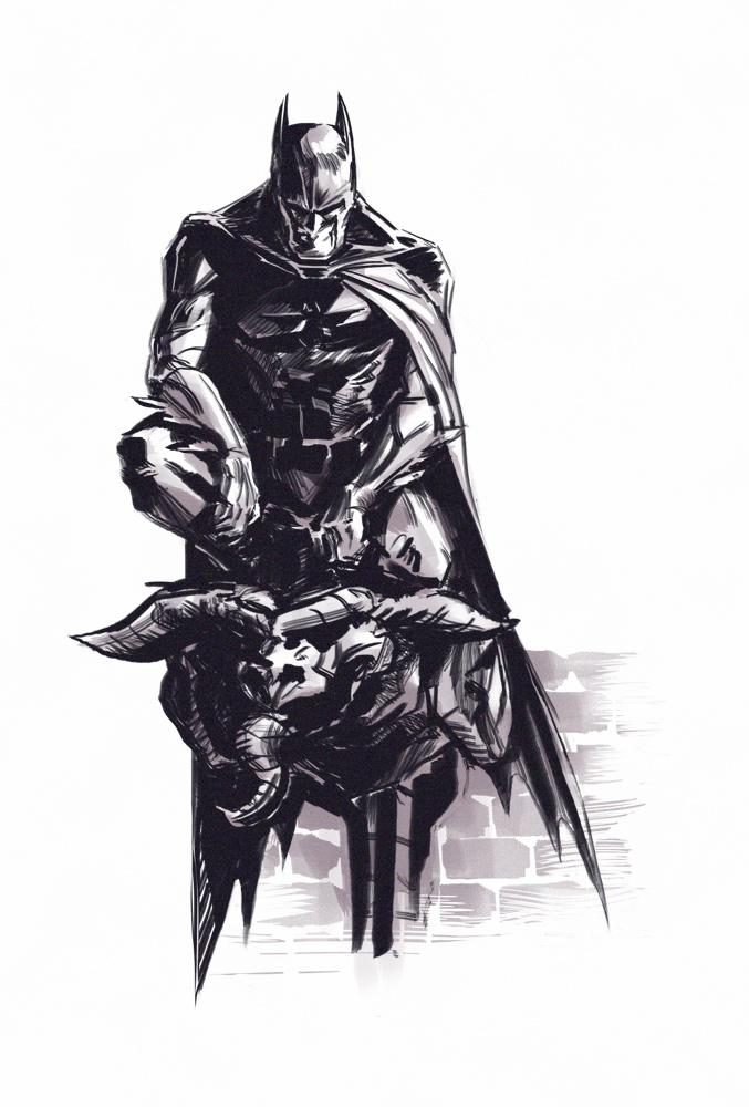 Batman Fanart by masz-rum