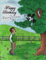 Happy 115th Birthday, Walt Disney! by WishExpedition23