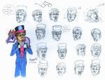 Dreamfinder Origins sketches