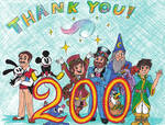 200 Watchers! THANK YOU! by WishExpedition23