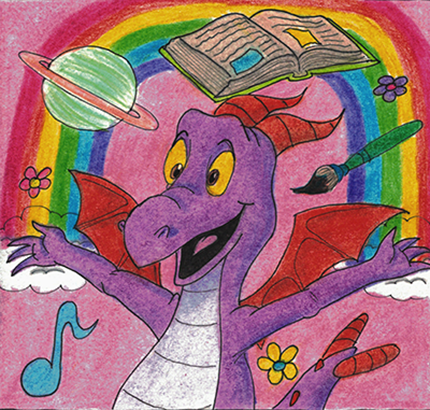 Disney Dreamer's Quilt - Figment by WishExpedition23