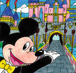 DisneyDreamers Quilt- Mickey Mouse