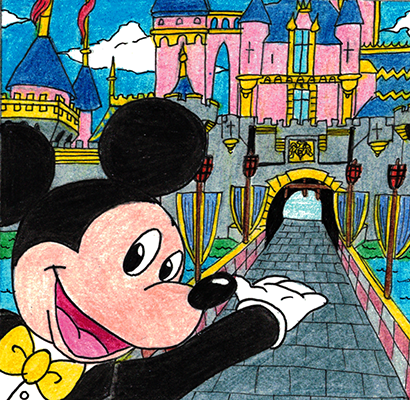 DisneyDreamers Quilt- Mickey Mouse by WishExpedition23