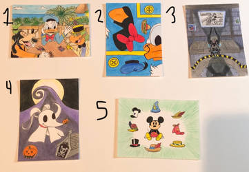 Art Trading Cards OPEN SALE - Disney by WishExpedition23