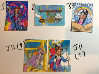 Art Trading Cards OPEN $ - Journey of Imagination by WishExpedition23