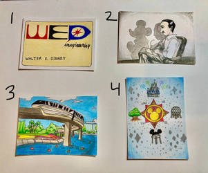 Art Trading Cards OPEN SALE - Disney Themed by WishExpedition23