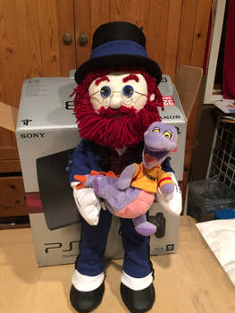 Dreamfinder doll with Figment