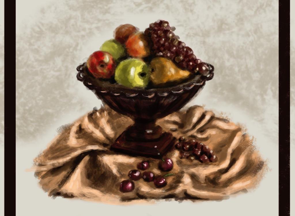 Food Study by elufie