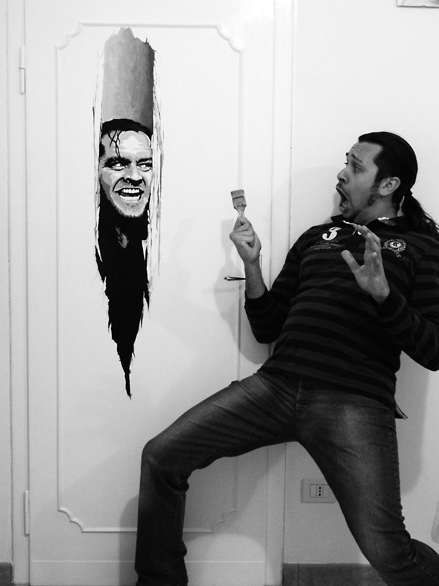 SHINING DOOR by SteASSENZIOPiccinini
