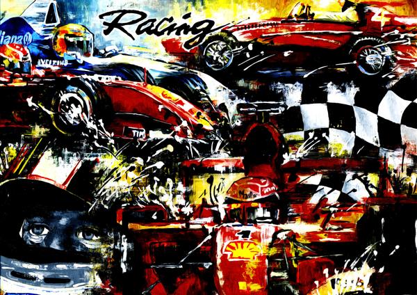 Formula 1 Illustration by Expounder