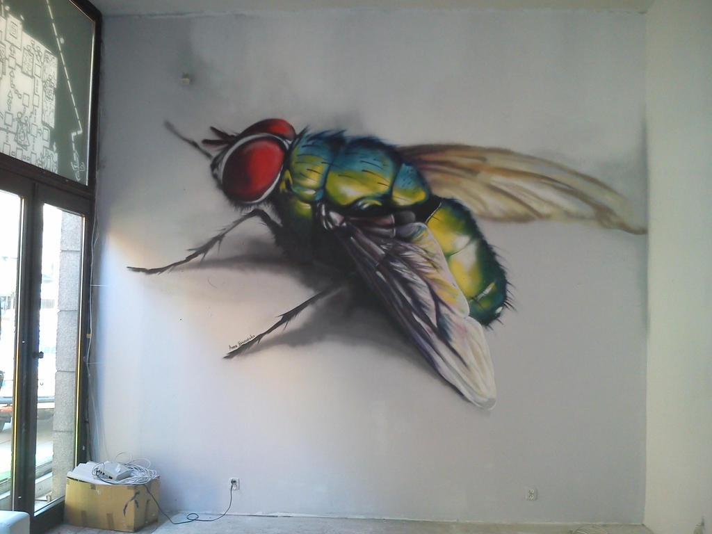 fly graffiti 4aero by aniaart