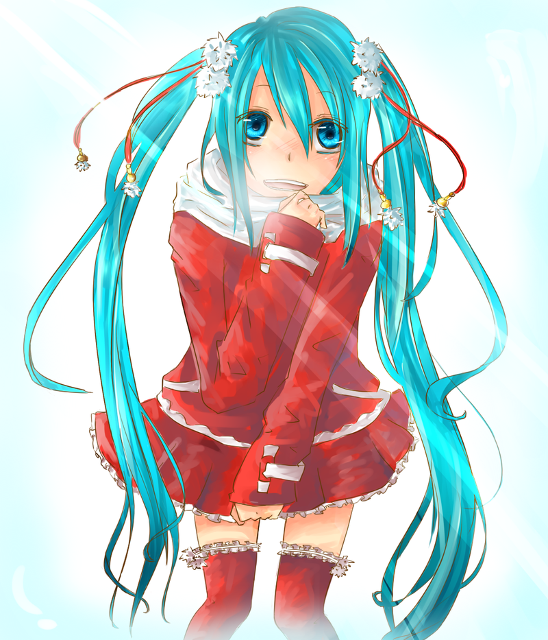 Hatsune Miku-Christmas by kaetyuki on DeviantArt