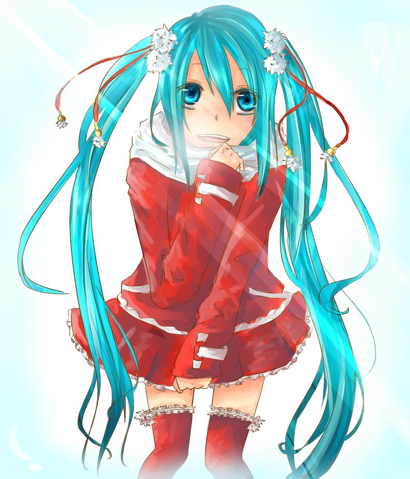Hatsune Miku-Christmas by kaetyuki on DeviantArt