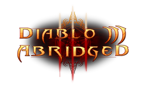 Diablo III Abridged Series Logo by mizutsunee