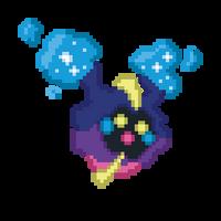 Nebby/Cosmog Sprite (fanart) by mizutsunee