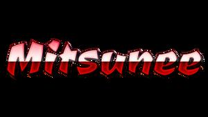Mitsunee Logo (2018) by mizutsunee