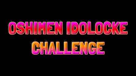 Oshimen Idolocke Challenge Logo