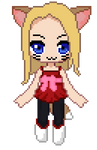 My Maple Story 2 character (Pixelart)