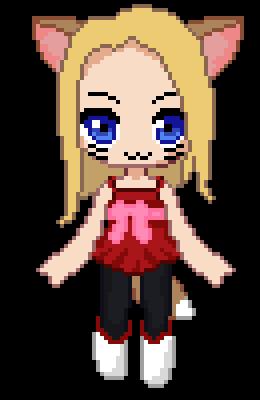 My Maple Story 2 character (Pixelart) by mizutsunee