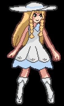 Lillie Pixelfanart Sprite