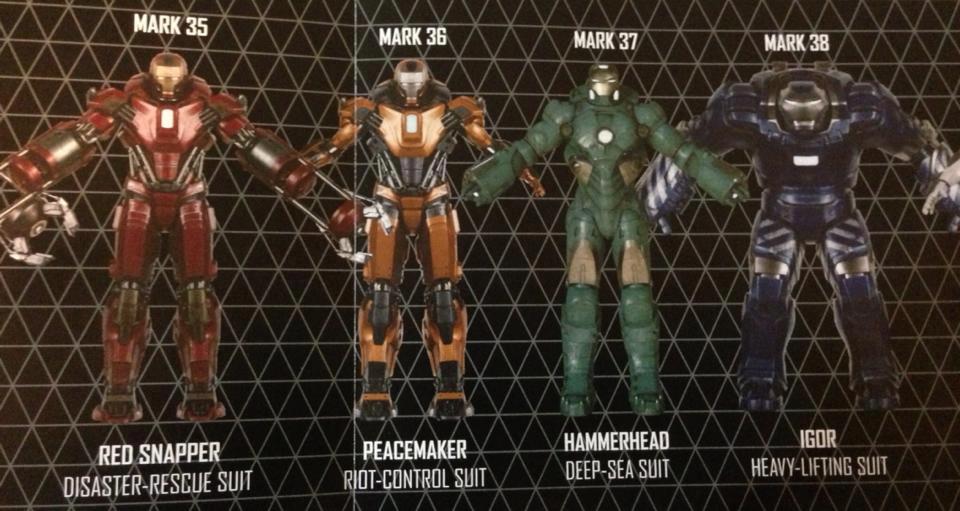 Iron Man Armors Mark Xxxv Xxxviii By Pyromaniac1712 On Deviantart