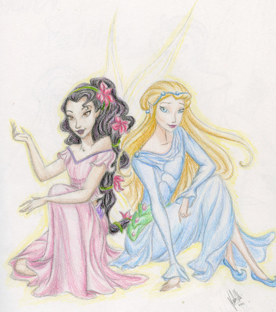 rani the fairy coloring pages - photo#11