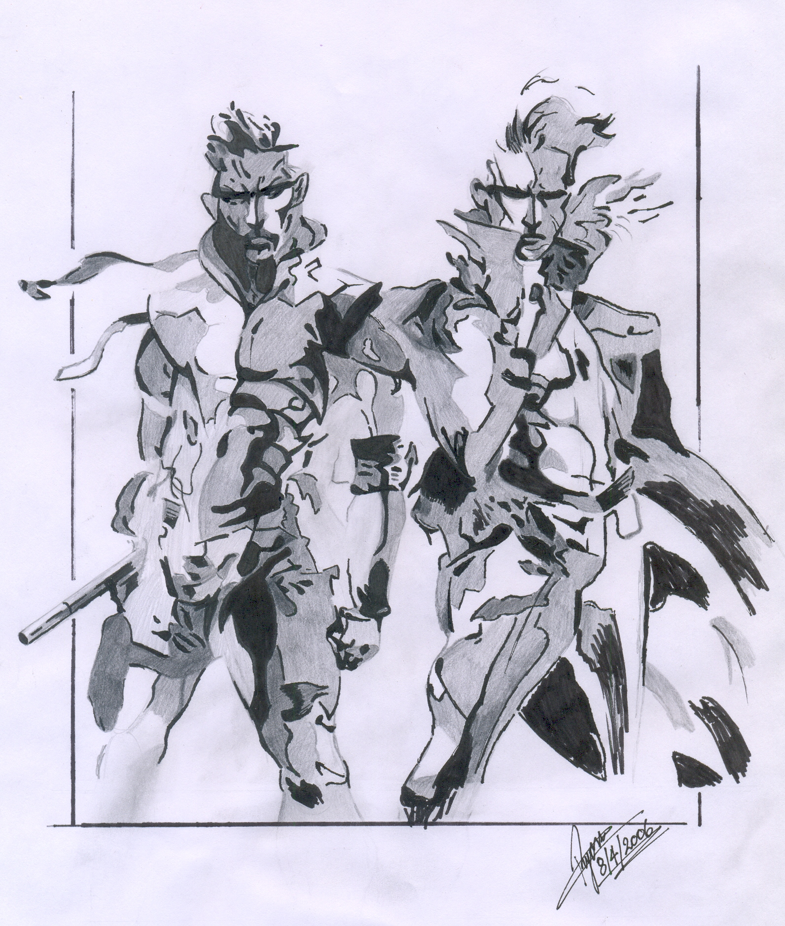 The Twin Snakes By Solid Snake 587 On Deviantart