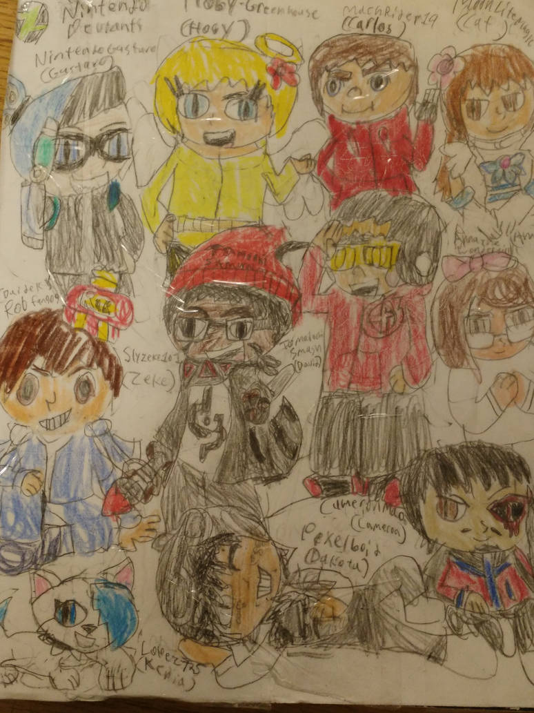 Tribute Drawning