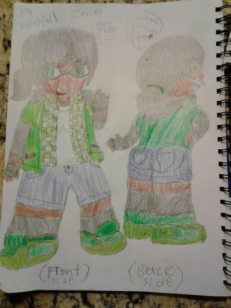 Zexiel's sketch  by SlyZeke101