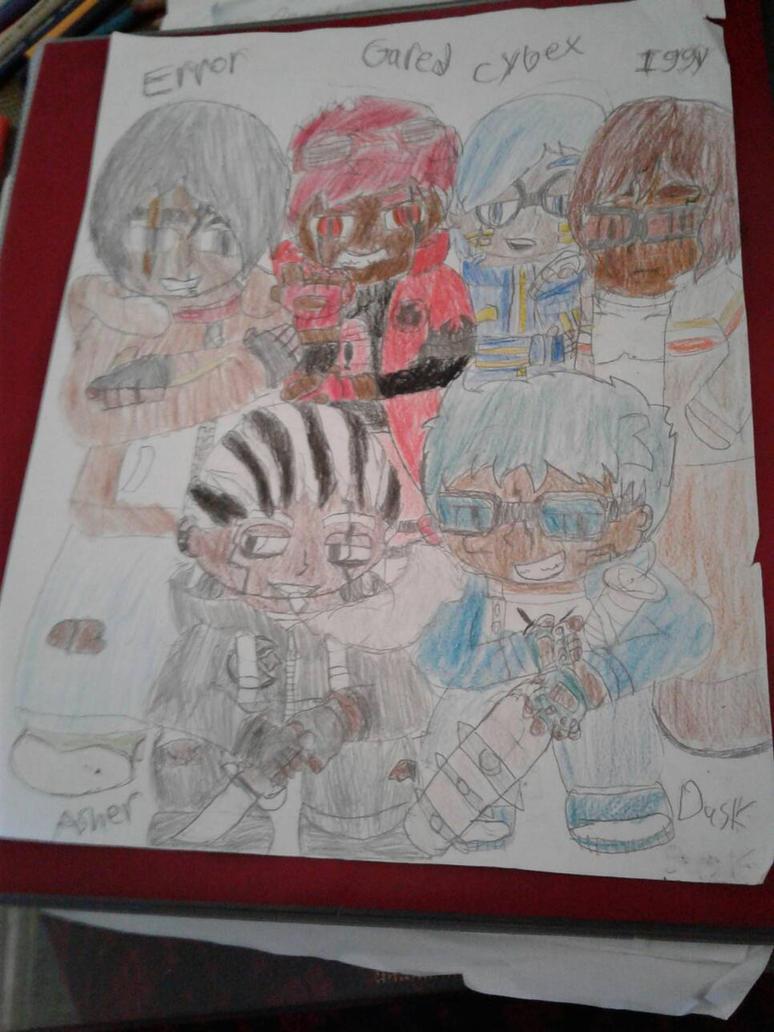 Xbox Avatar Assistants Sketch(Males) by SlyZeke101