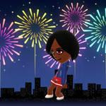 Zade, The Firework Queen by SlyZeke101