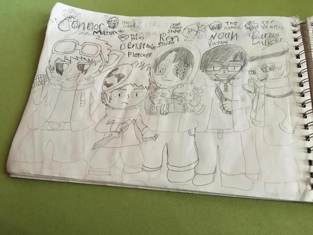 Monster Club Characters Redesigns(1/4) by SlyZeke101